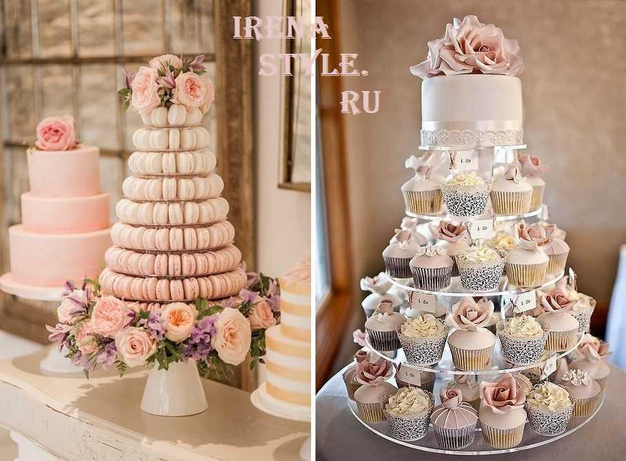 Свадебные торты из мастики [2021] – белые двухъярусные с розами? своими руками, фото.