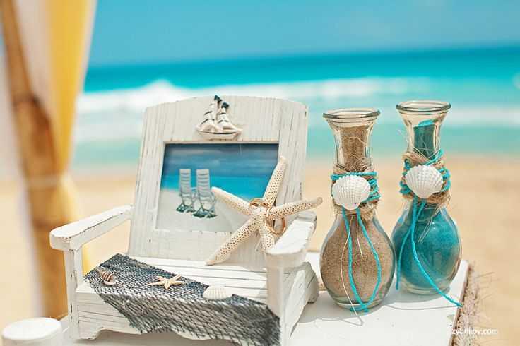 Морская свадьба: сценарий, идеи декора, наряды