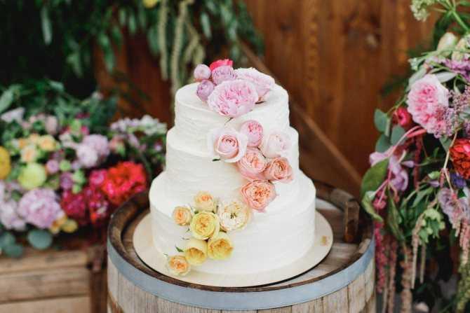 Самые красивые и оригинальные свадебные торты 2019 - фото новинки