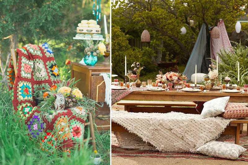Стиль бохо: свадьба и идеи ее оформления - hot wedding