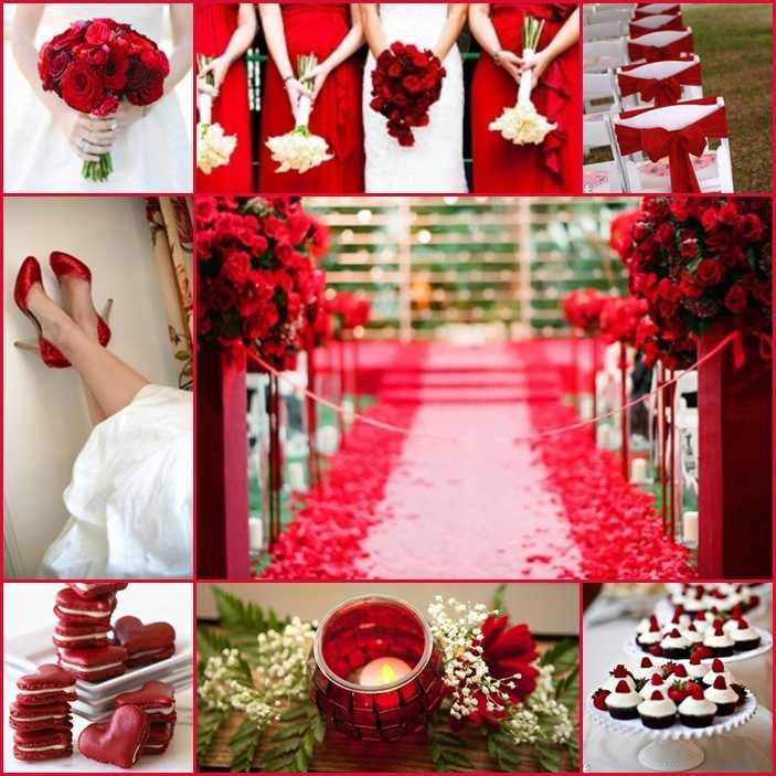 ᐉ красно-белый свадебный торт из мастики с розами - svadebniy-mir.su