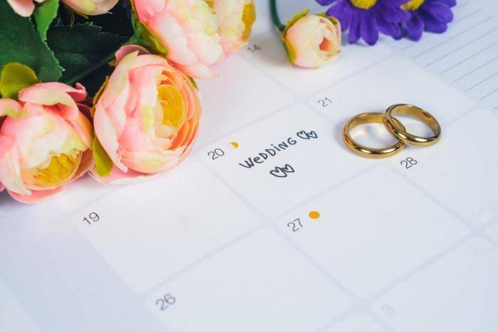 Лунный календарь свадеб на август 2021 года - благоприятные дни