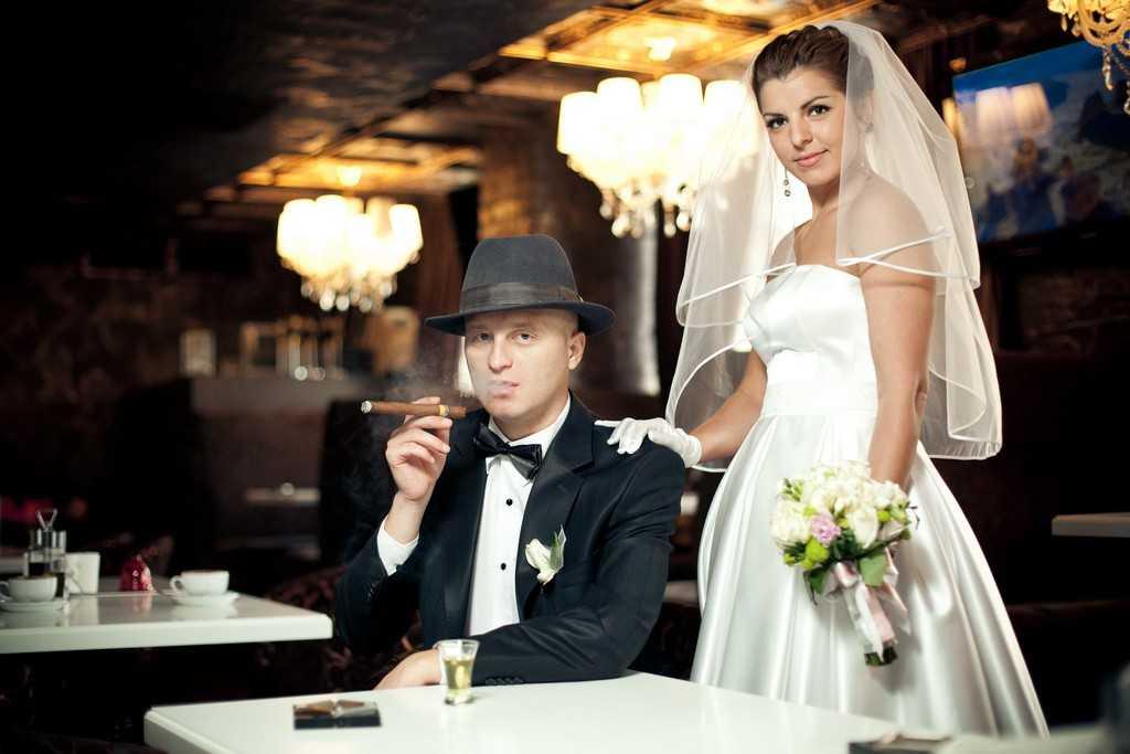 Свадьба в стиле чикаго с фото / свадьба в стиле