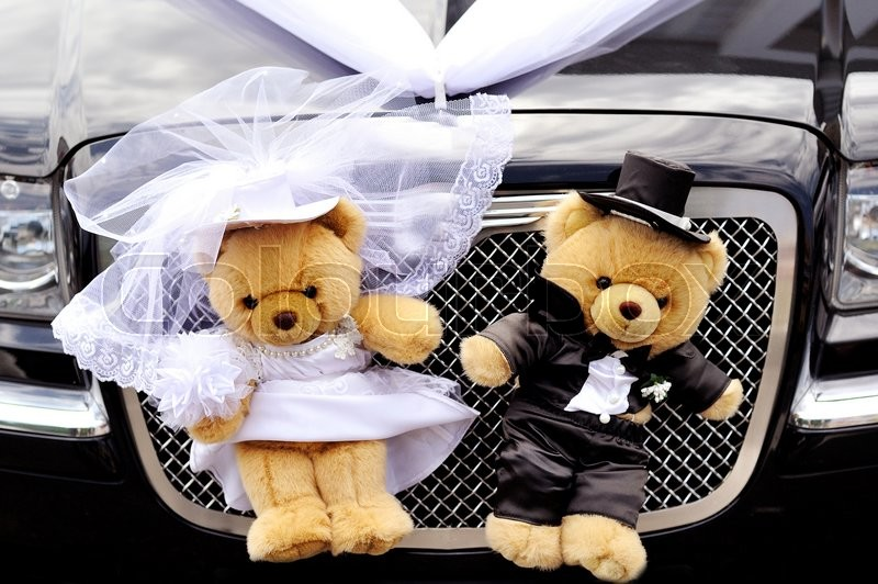 Мои детки - влюбленная парочка лебедей. украшения на свадебную машину. | страна мастеров
